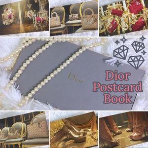 Christian Dior Limited Edition Postcard Book 2011